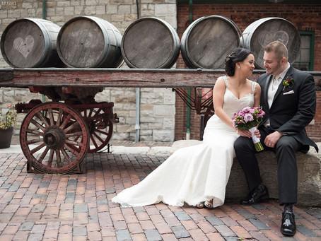 Joanna and Ryan's Wedding Photos & Video  at The Omni King Edward Hotel, Toronto