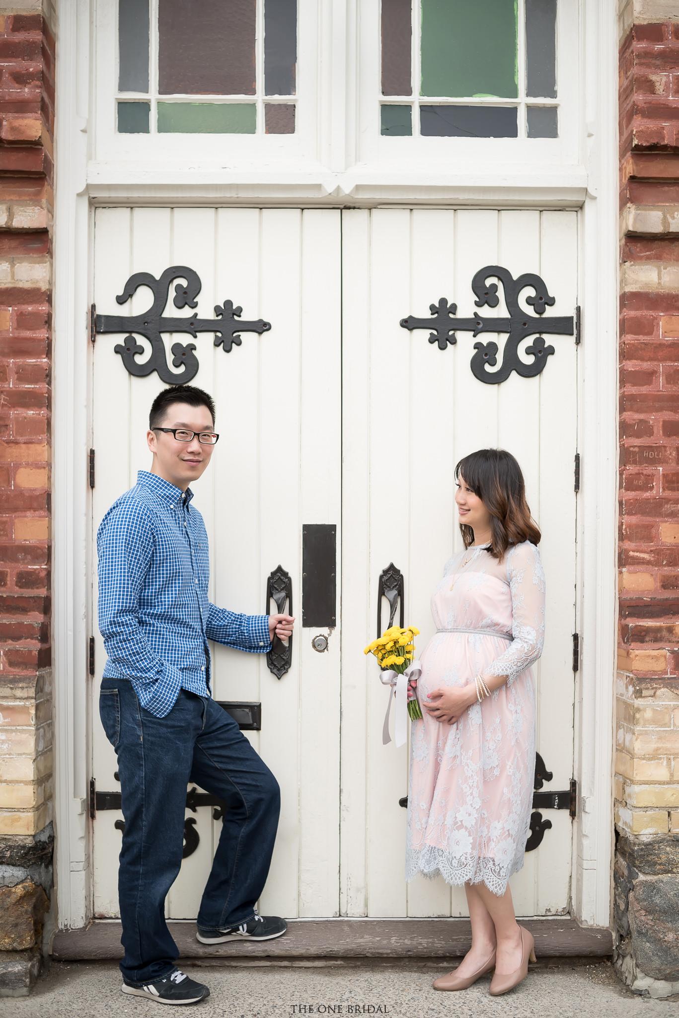 Maternity Photography - Main St.