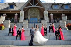 Custom Bridesmaid Dress in Pink