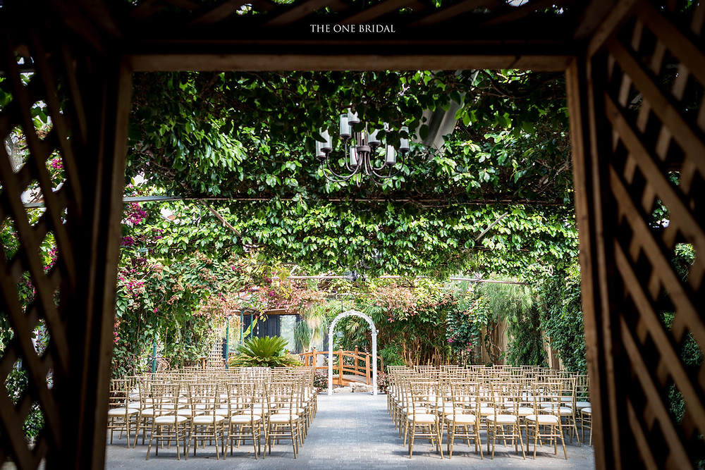 Madsen's Greenhouse Wedding Ceremony | THE ONE BRIDAL