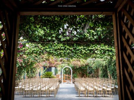 Madsen's Greenhouse Wedding Ceremony