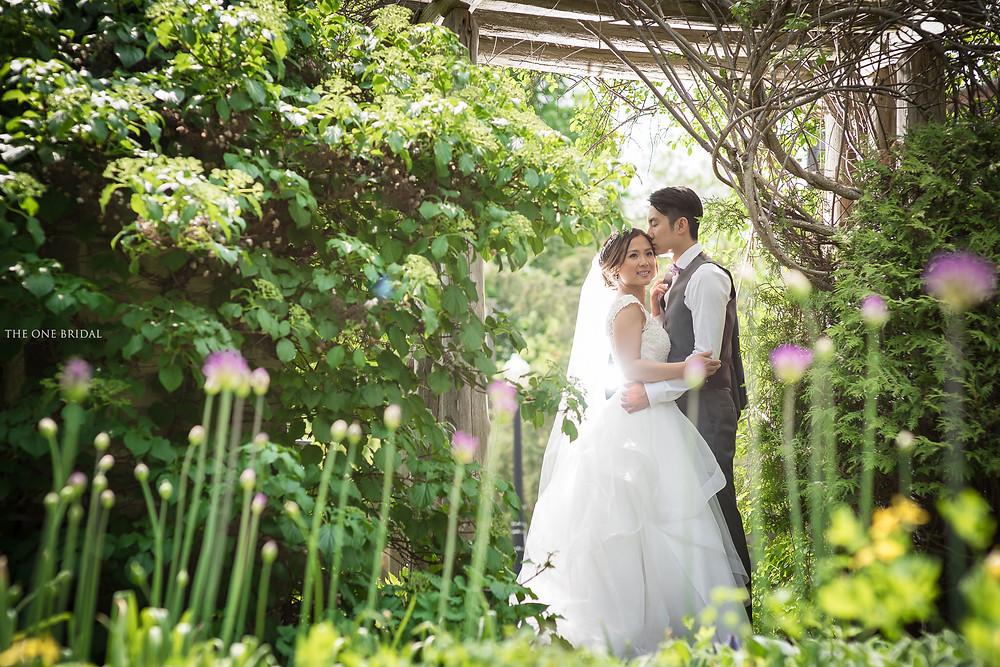 Alexander Muir Memorial Gardens Wedding Photo by THE ONE BRIDAL