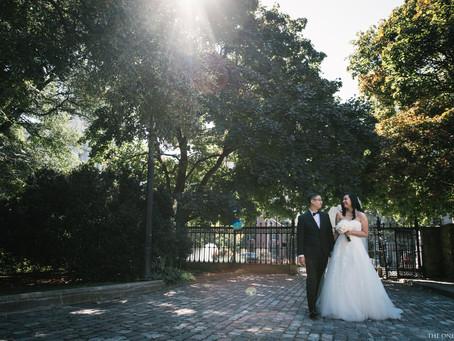 Downtown Toronto Wedding Photo