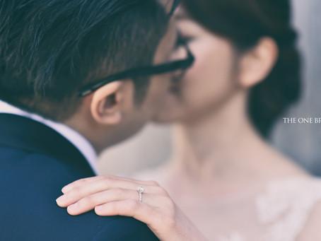 Congrats the newly weds Karen and Kent!