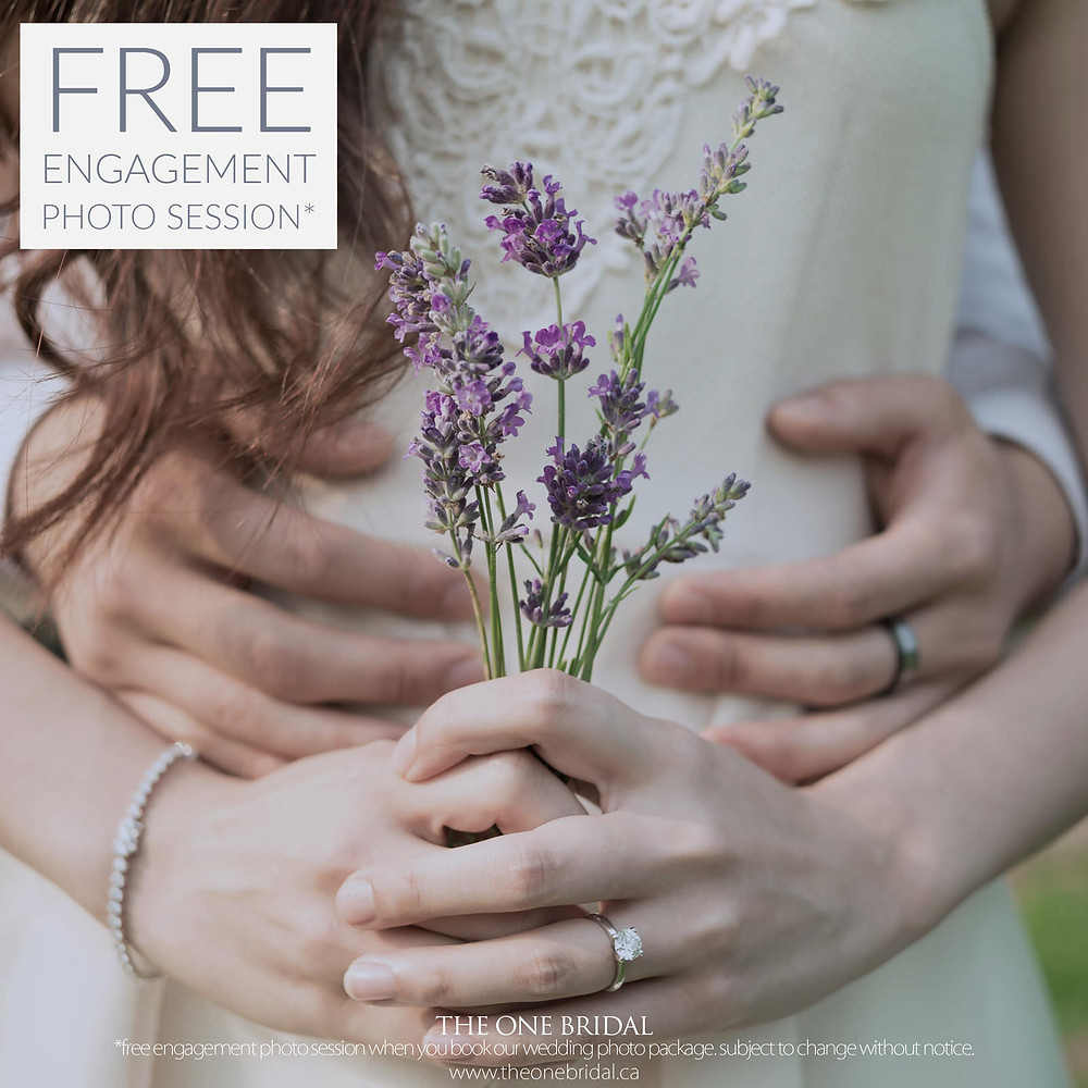 Free Engagement Photo Session in Toronto by THE ONE BRIDAL*