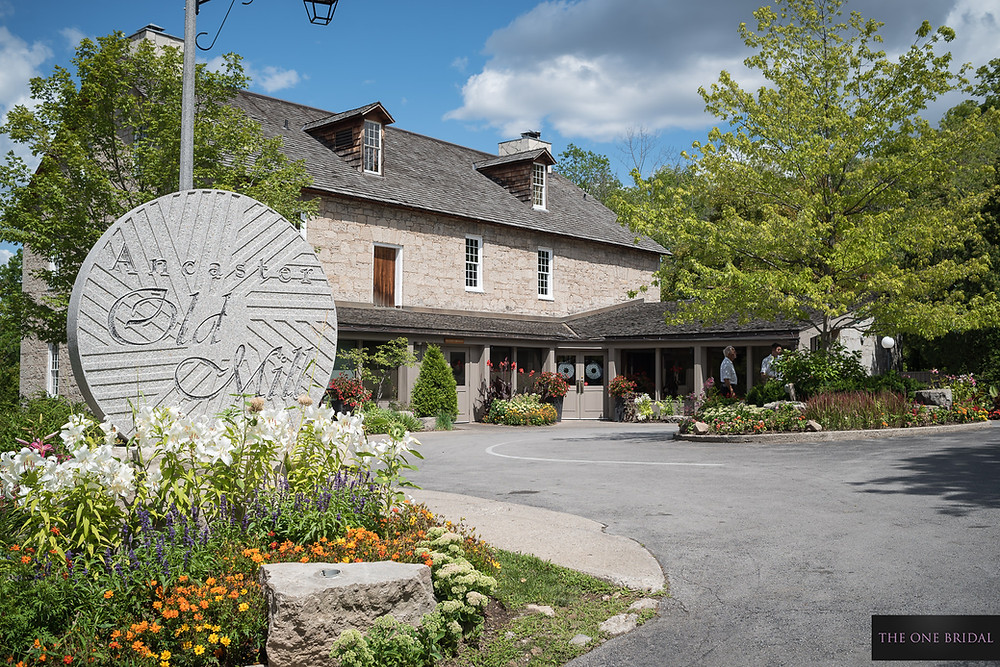 Ancaster Mill Wedding Venue by THE ONE BRIDAL