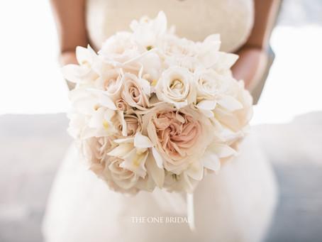Simple Beautiful Bridal Bouquet