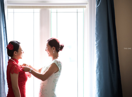 Bride and Mother - Dress Up the Traditional Chinese Qipao Dress