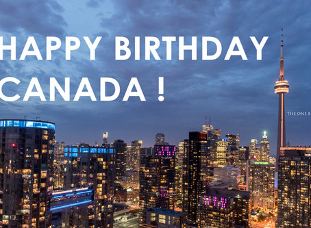 Happy Birthday Canada 150! and Business Hours