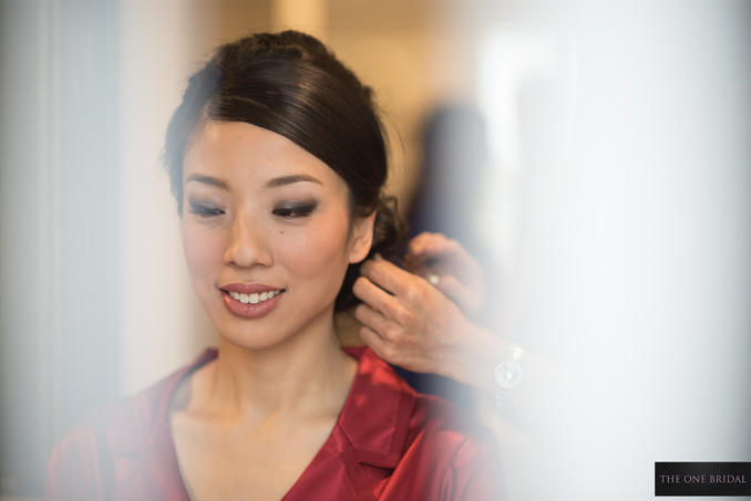 Chinese bride with Red Wedding Dress| THE ONE BRIDAL