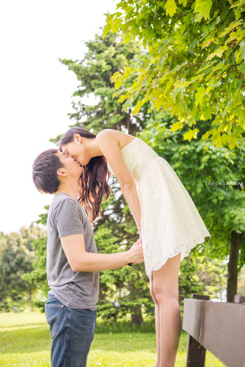 Scarborough Bluffs Engagement Photography by THE ONE BRIDAL