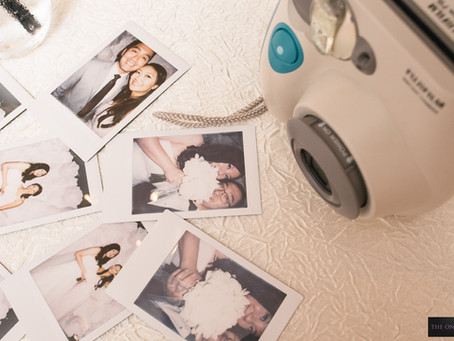 Capture Your Memories in Style with Instant Camera and Films in Wedding