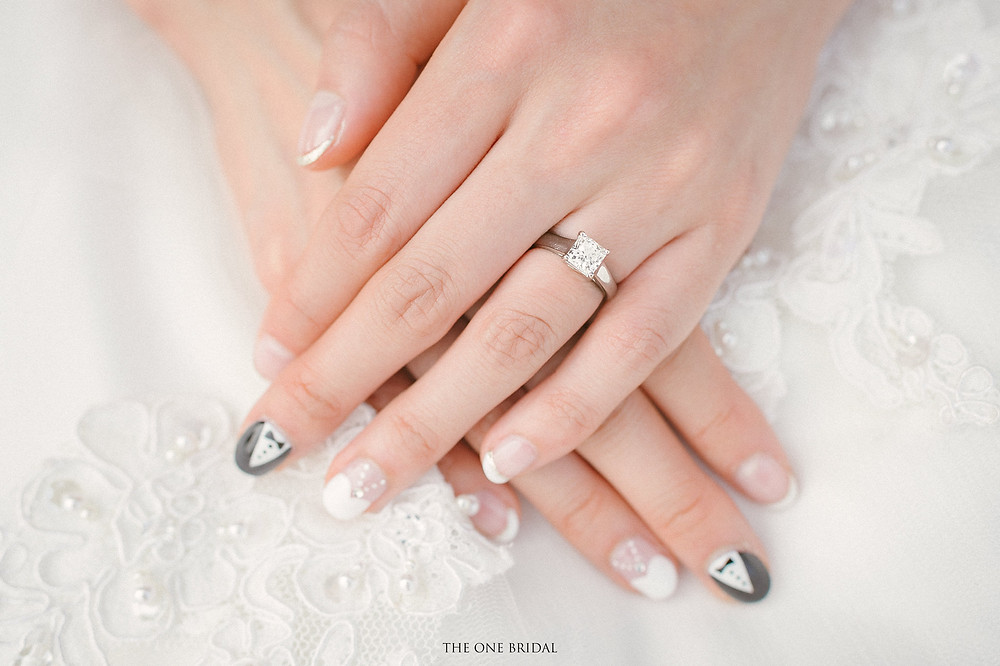 Bridal Nails Art | THE ONE BRIDAL