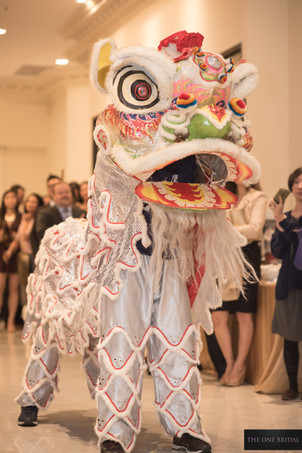 Kung Fu Lion Dance at Wedding | THE ONE BRIDAL