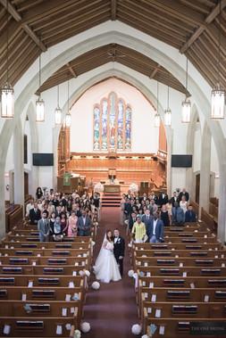 Glenview Presbyterian Church Wedding