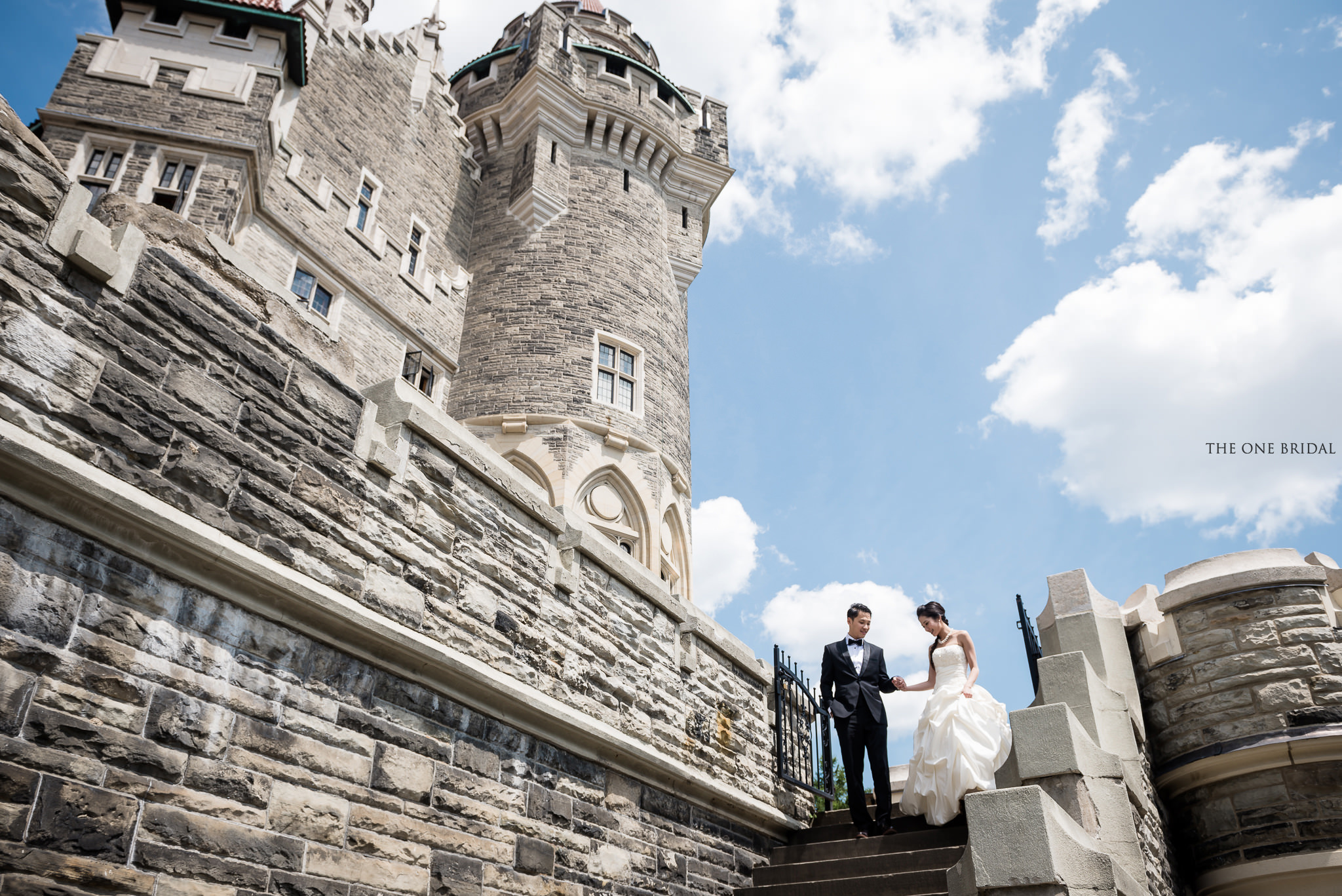 Casa Loma Toronto Pre-wedding Photo