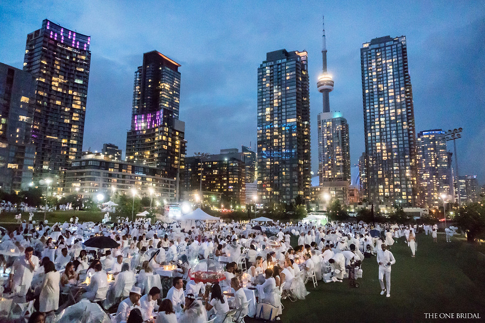 Dîner en Blanc Toronto 2017 by THE ONE BRIDAL