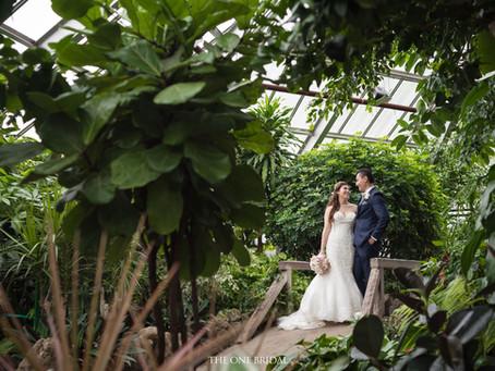 Greenhouse Wedding Photo in Toronto