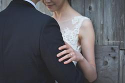 Bride and Groom. Wedding Photo