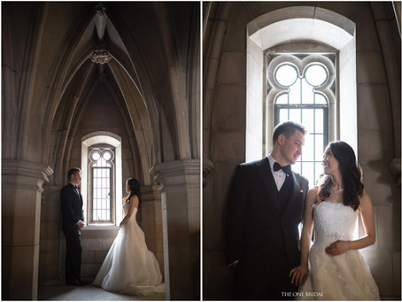 Knox College Toronto Pre-wedding Photography