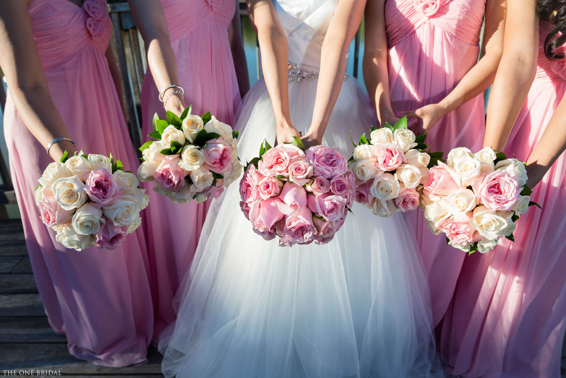 Custom Bridesmaid Dress in Pink