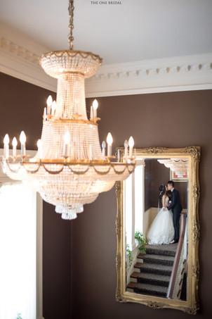 Bride and Groom at Graydon Hall Manor   Wedding Photo