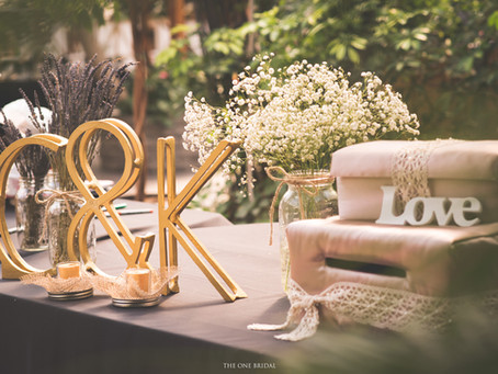 Beautiful Wedding Decoration Setup for Reception Table