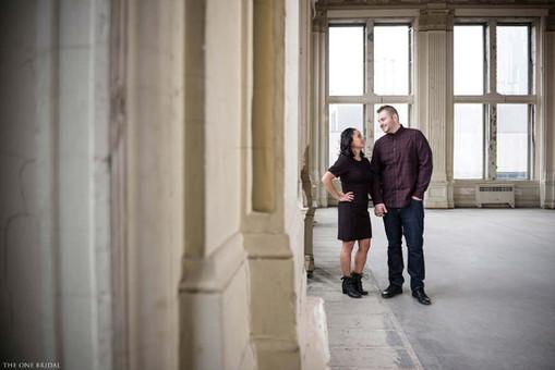 King Edward Hotel Engagement Photo   THE ONE BRIDAL