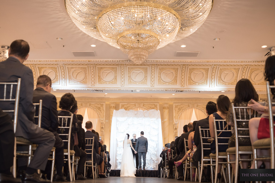 Wedding Ceremony at Paradise Banquet, Vaughan   THE ONE BRIDAL