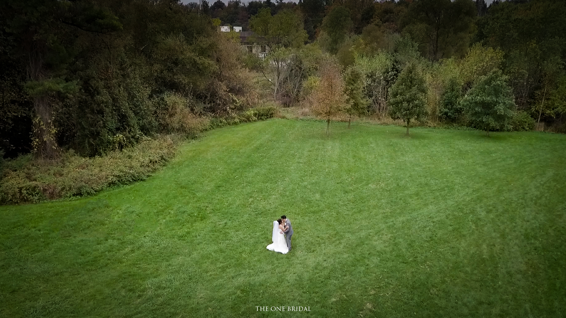 Wedding Drone Photo | THE ONE BRIDAL
