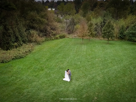 Wedding Drone Photo