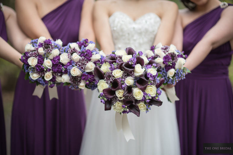 Wedding bouquets   THE ONE BRIDAL