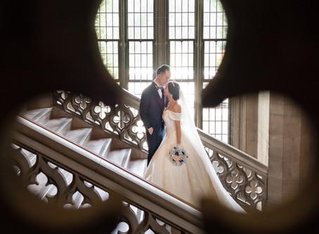 Wedding Photo at Knox College Toronto