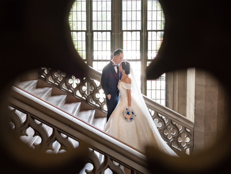 Wedding Photo at Knox College Toronto