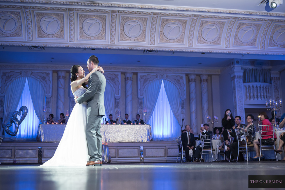Bride and Groom First Dance at Paradise Banquet | THE ONE BRIDAL