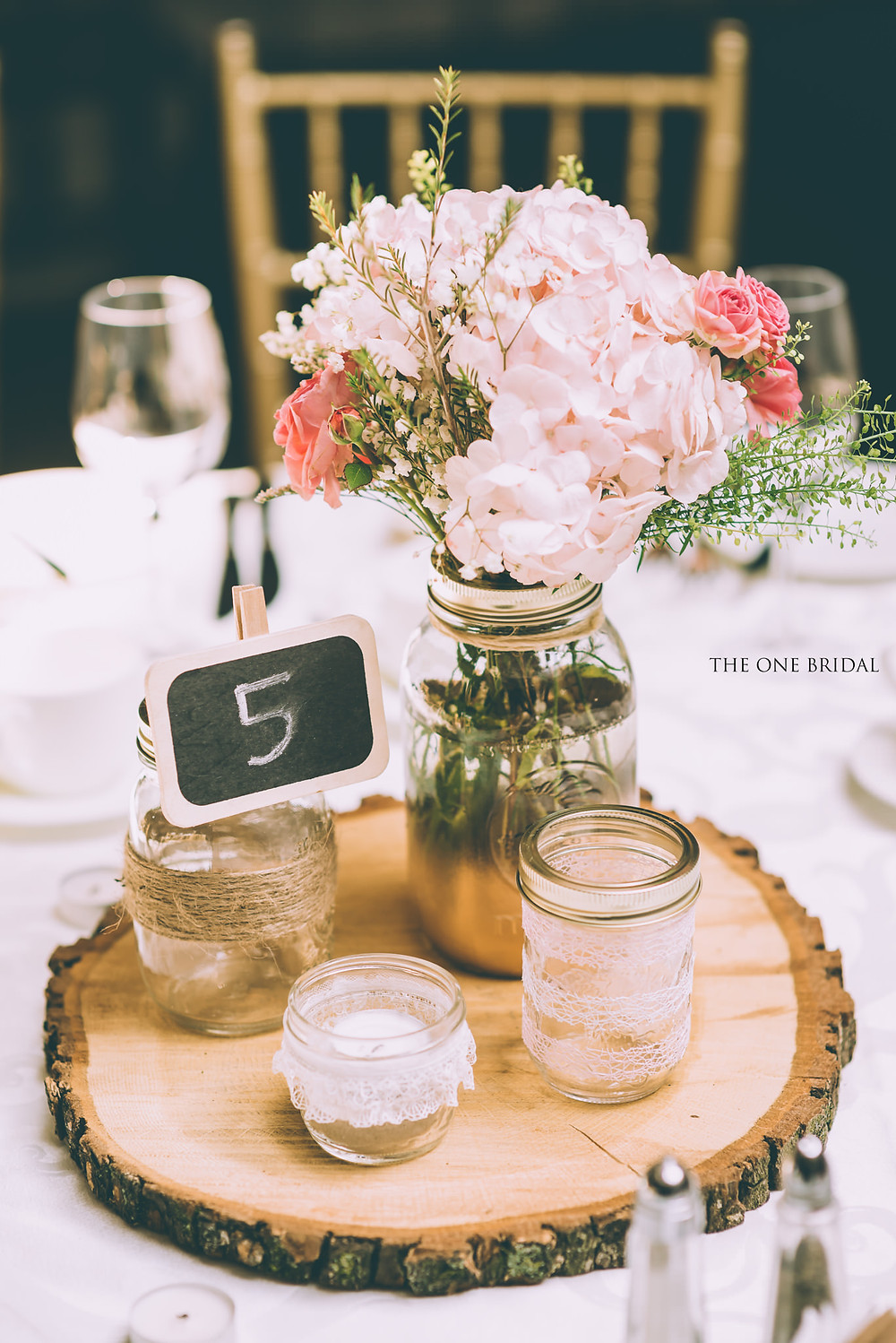 Wedding centrepiece and table decoration | THE ONE BRIDAL