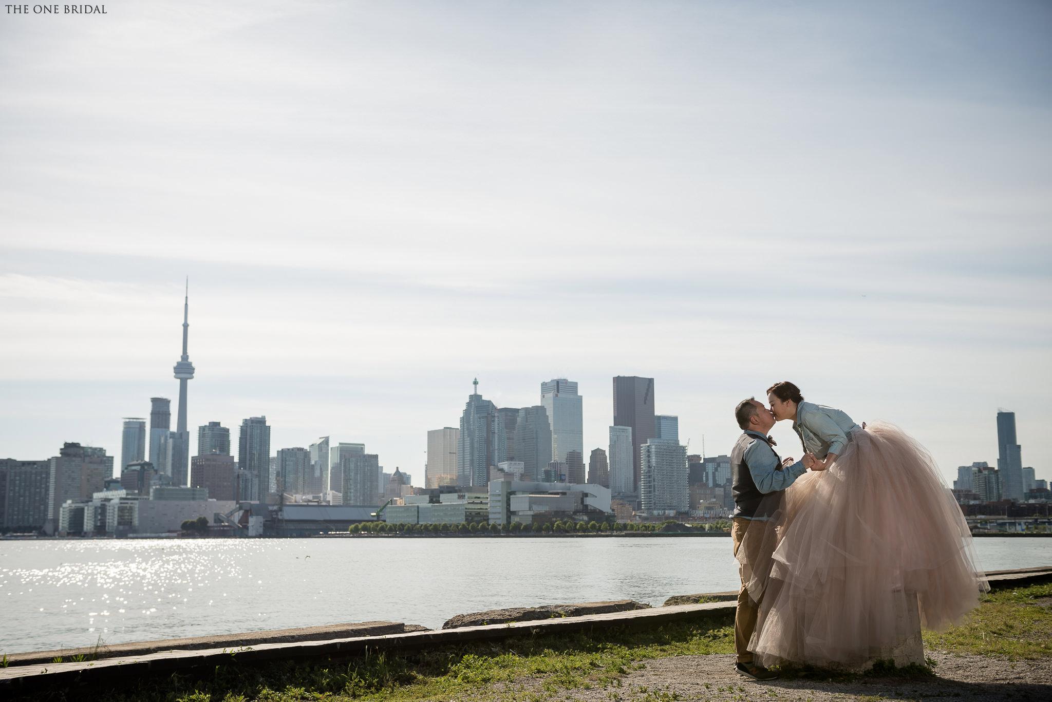 Toronto Cherry Beach Engagement