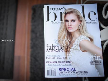 Free Today's Bride Toronto Magazine Fall / Winter 2016