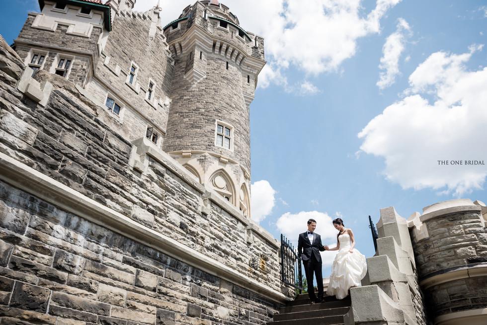 Casa Loma Toronto Prewedding Photography