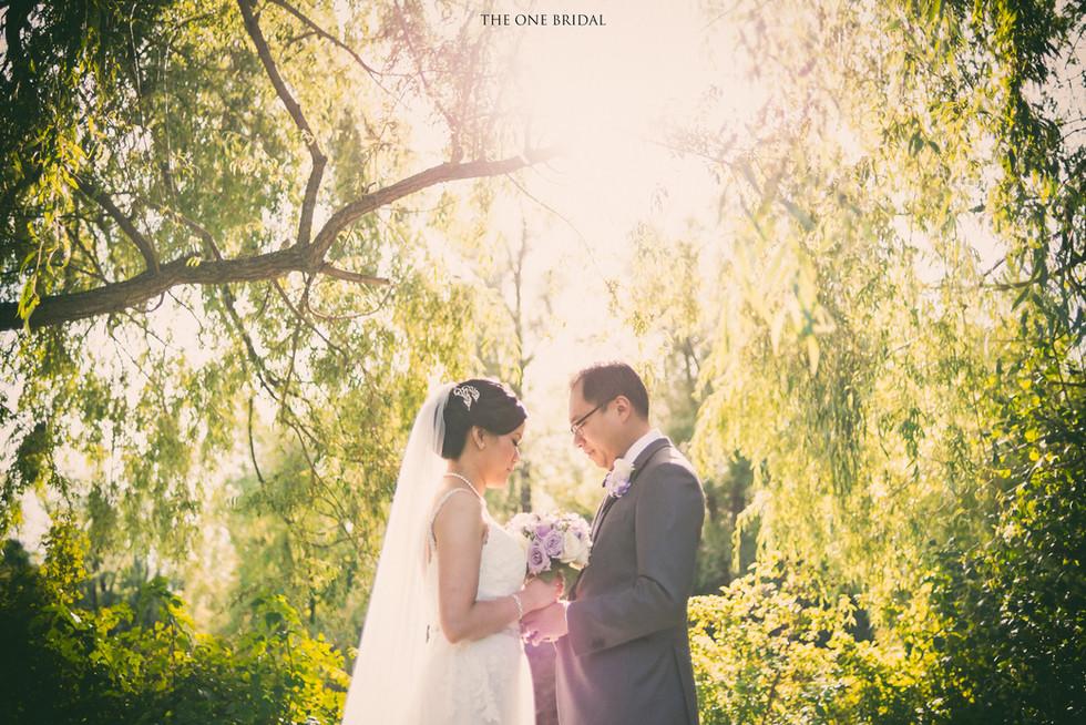 Main Street Wedding Photo