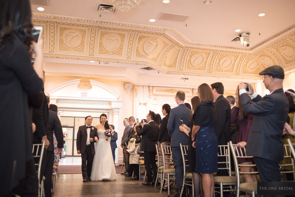 Wedding Ceremony at Paradise Banquet, Vaughan | THE ONE BRIDAL