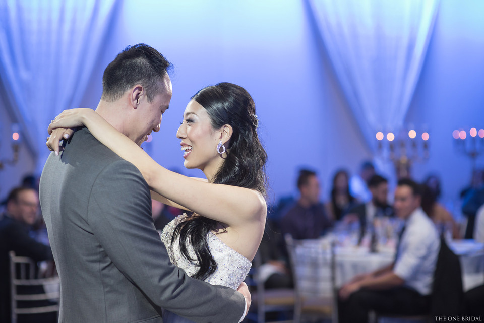 Bride and Groom First Dance at Paradise Banquet   THE ONE BRIDAL