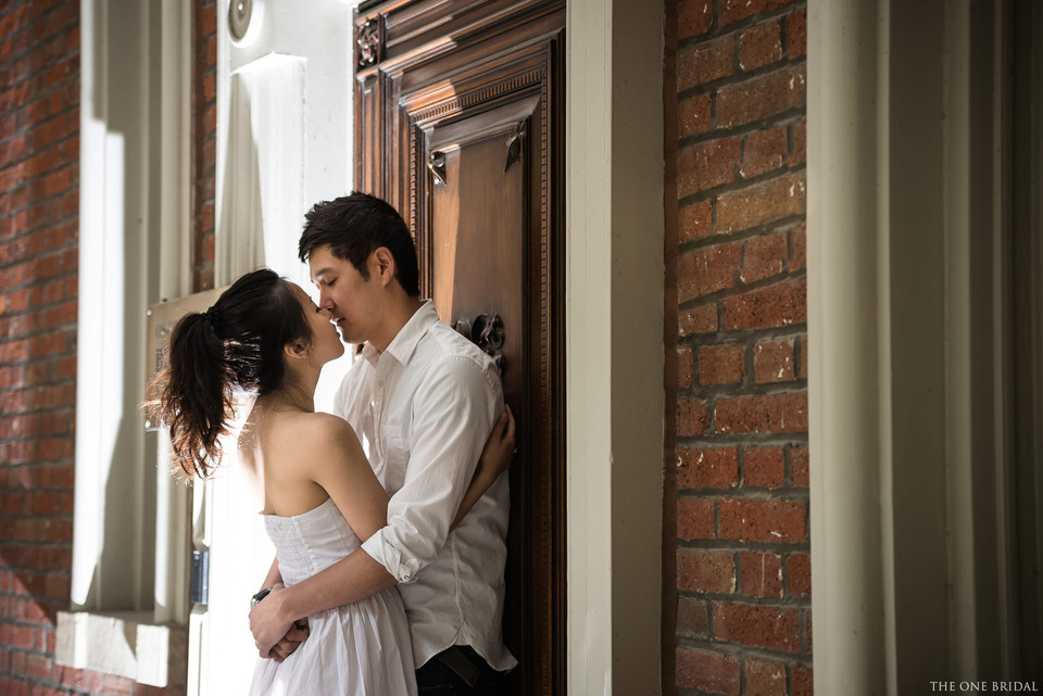 Osgood Hall Engagement Photography by THE ONE BRIDAL