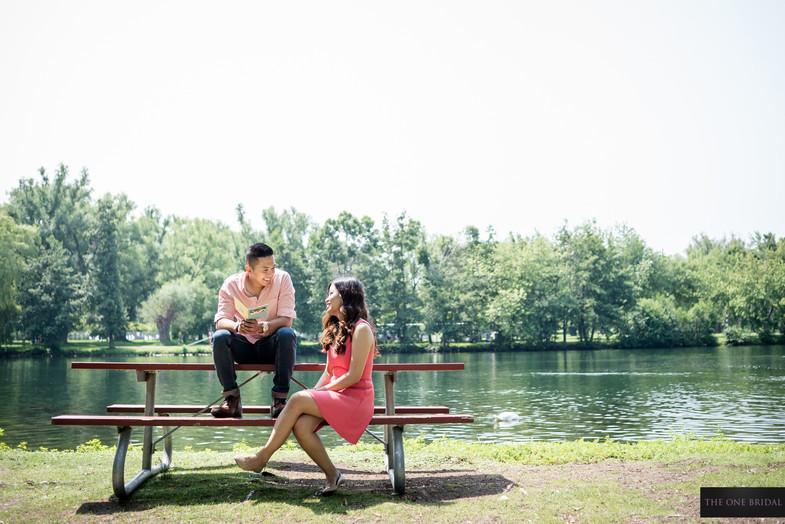 Toronto Centre Island Engagement Photography