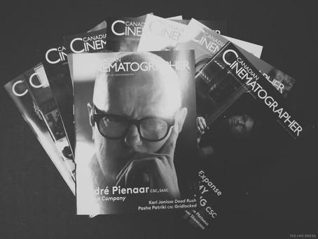 Canadian Cinematographer Magazine at ProFusion Expo 2016