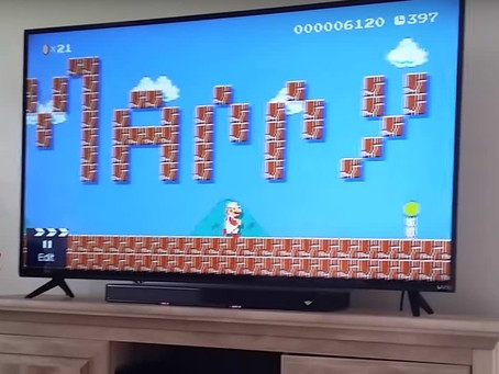 How to propose in Mario Maker game