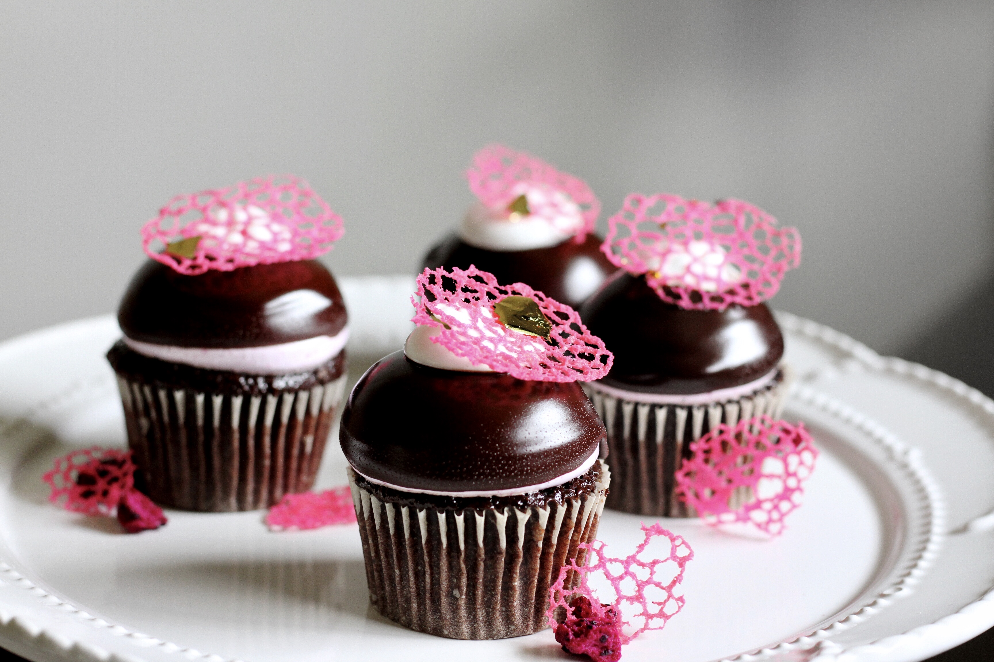 High Hat Cupcakes