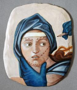 Modernised Renaissance Fresco