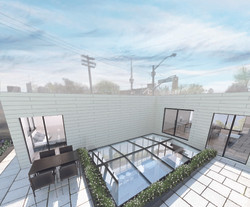 Private Patio Render
