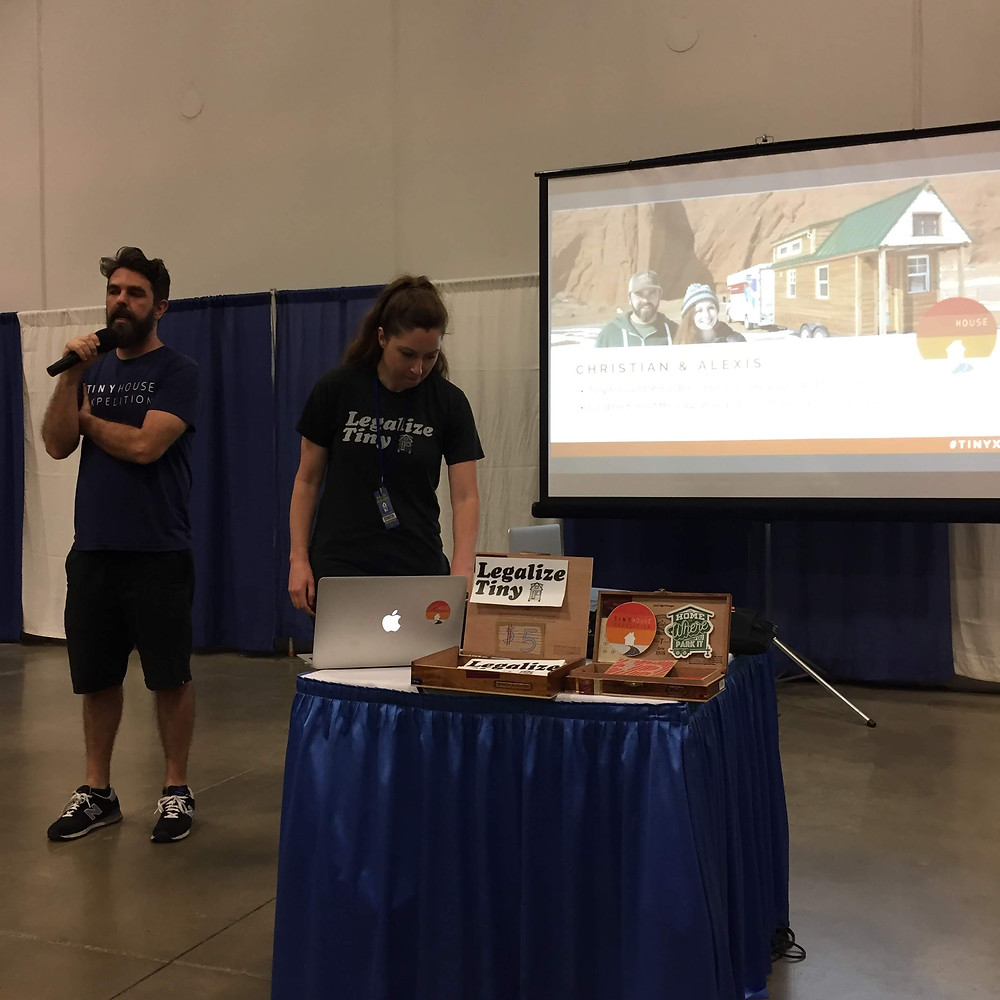 tiny house expedition, education, presentation,